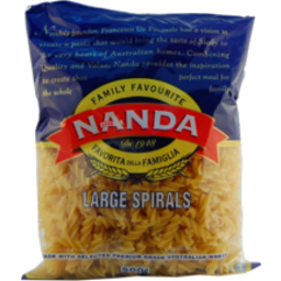 Photo of Nanda Pasta Large Spirals No1 500g