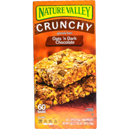 Photo of Nature Valley Granola Bars Dark Chocolate