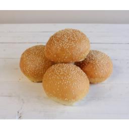 Photo of Bread - Roll - Sesame Round 4 Pk