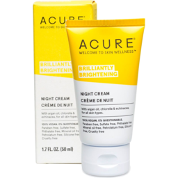 Photo of Acure Night Cream - Brilliantly Brightening