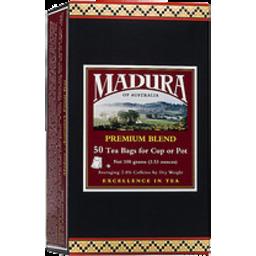 Photo of Madura Tea Bag Premium 50s