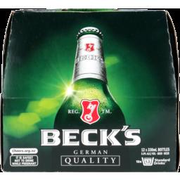 Photo of Becks Lager Bottles 12 Pack