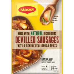 Photo of Maggi Devilled Sausages 37g