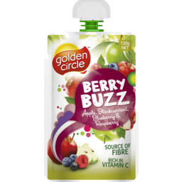 Photo of Golden Circle® Berry Buzz Apple, Blackcurrant, Blueberry & Raspberry Pouch 120g