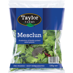 Photo of Taylor Farms Mesclun Salad 120g