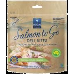 Photo of Huon Hot Smoked Salmon Deli Bites 250gm