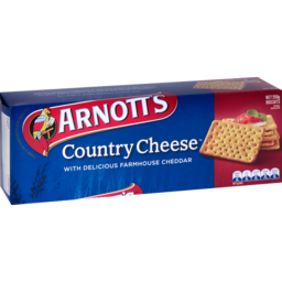 Photo of Arnott's Country Cheese 250g
