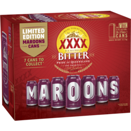 Photo of XXXX Bitter Cans