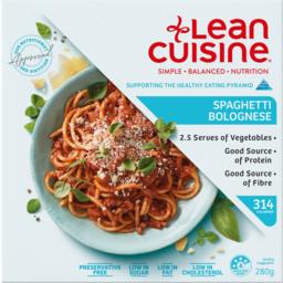 Photo of Lean Cuisine Spaghetti Bolognese 280g