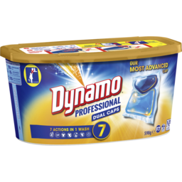 Photo of Dynamo Professional 7 In 1 Dual Capsule Laundry Detergent, 26