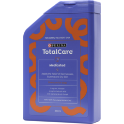 Photo of Purina Total Care Medicated Shampoo For Dogs 350ml
