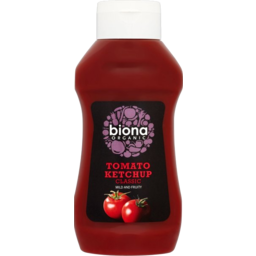Photo of Biona Tomato Ketchup Squeezy 560g