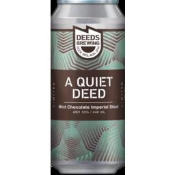 Photo of Quiet Deeds Mint Chocolate