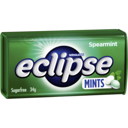 Photo of Eclipse Spearmint Mints 34g