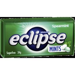Photo of Eclipse Spearmint Mints 34g