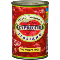 Photo of Capriccio Diced Tomatoes 400gm