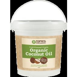 Photo of Topwil Virgin C/Nut Oil Pail 1lt