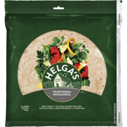 Photo of Helga's Traditional Wholemeal Wraps 8 Pack 560g