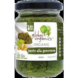 Photo of Global Organic Pesto Alla Genovese 120gm
