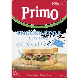 Photo of Primo Thinly Sliced Premium English Ham 100g