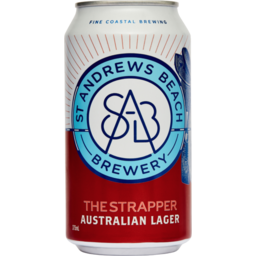 Photo of St Andrews Beach Brewery The Strapper Lag 375ml Slab