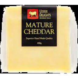 Photo of Udder Delights Mature Cheddar 200g