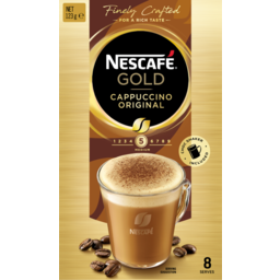 Photo of Nescafe Gold Cappuccino Original 8 Pack 123g