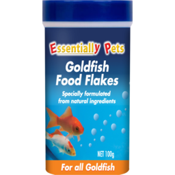 Photo of Essentially Pets Goldfish Food Flakes For All Goldfish 100g