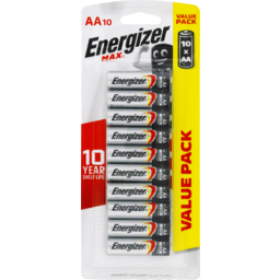 Photo of Energizer Max AA 10pk