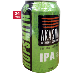 Photo of Akasha Hopsmith IPA Cans