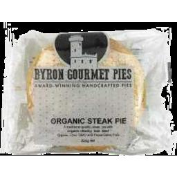 Photo of Byron Gourmet Pies Organic Steak Pie