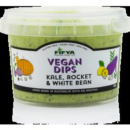 Photo of Fifya Vegan Dips Kale, Rocket & White Bean 250g