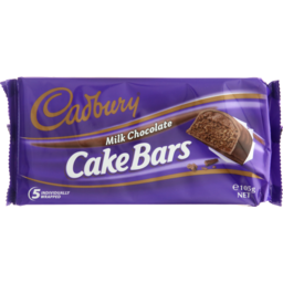 Photo of Cadbury Cake Bar Milk Chocolate 5 Pack