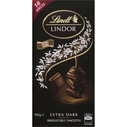 Photo of Lindor Singles 60% Cocoa 100g