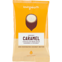 Photo of Loving Earth Organic Caramel Chocolate 30g
