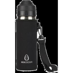 Photo of ecococoon Stainless Steel Bottle - Cuddler - Black