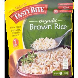 Photo of Tasty Bite Organic Brown Rice 250gm