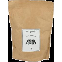 Photo of Loving Earth Cacao Powder - Raw