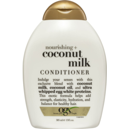 Photo of Ogx Nourishing + Coconut Milk Conditioner 385ml