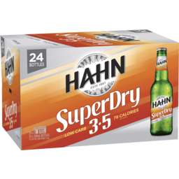 Photo of Hahn Super Dry 3.5% Stubbies