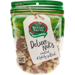 Photo of Mother Earth Deluxe Nuts Lightly Salted 400g