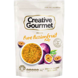 Photo of Creative Gourmet Pure Passionfruit Pulp 400gm