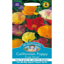 Photo of Seed California Poppy Single Mix A