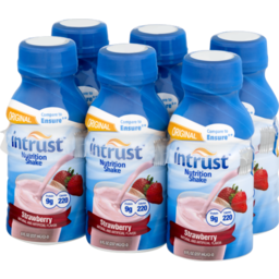 Photo of Intrust Nutrition Shake Original Strawberry - 6 Pk