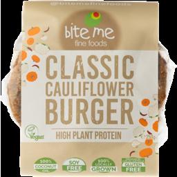 Photo of Bite Me Burgers Cauliflower Gf 250g