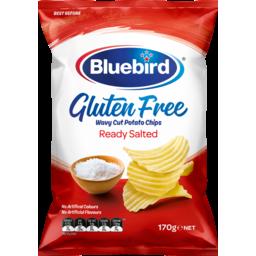 Photo of Bluebird Gluten Free Potato Chips Ready Salted 170g