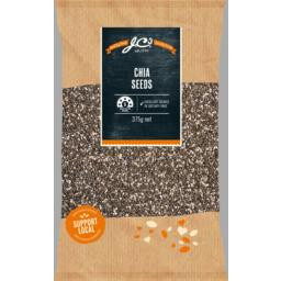 Photo of JC's Chia Seeds 375gm