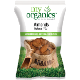 Photo of My Organics Natural Australian Almonds 250g