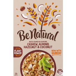 Photo of Be Natural Cashew, Almond, Hazelnut & Coconut Cereal 415g