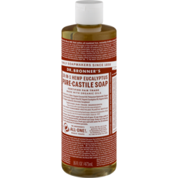 Photo of Dr Bronner's Pure-Castile Liquid Soap - Eucalyptus